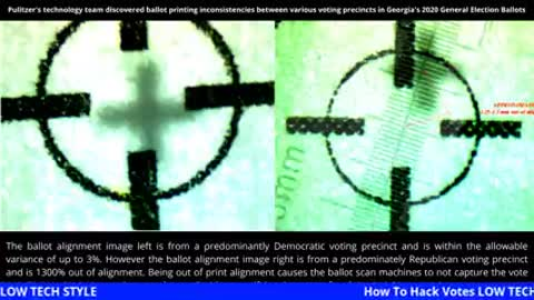 How To Hack Votes LOW TECH STYLE by using Eyeballs! Listen to this folks!.m