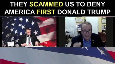 They SCAMMED Us to DENY America First President Trump