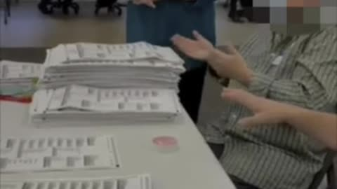 MI Sec of State Official Caught On Video Ignore Signatures, just count ballots during audit.