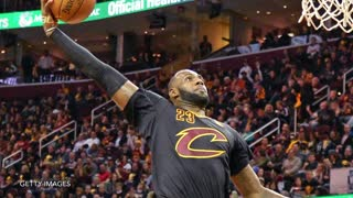 LeBron James Swats, Drops Dimes, Dances & Dunks In Season Opener - Video