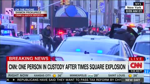 Reports of Explosion, Possible Pipebomb at Manhattan Bus Terminal