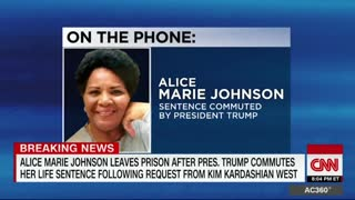 Alice Marie Johnson Thanks Trump For Commutation: 'I Am Going To Make You Proud' - Video