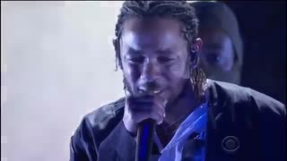 Kendrick Lamar Performs At the Grammys - Video