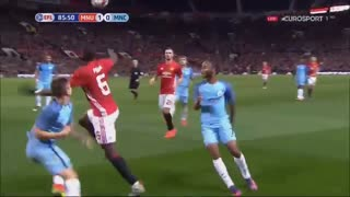 Paul Pogba crazy skill vs Manchester City - Video