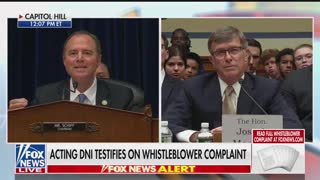 Schiff final remarks whistleblower hearing Part 2