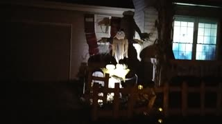 Amazing Halloween Display!! - Video