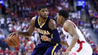 Drake Yells At Paul George During Raptors vs. Pacers Game, Blasts Him on Instagram - Video