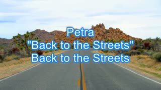 Petra - Back to the Streets #474