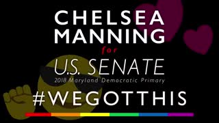 Chelsea Manning Releases Sinister Senate Campaign Ad - Video