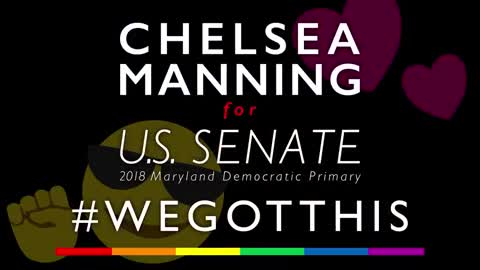 Chelsea Manning Releases Sinister Senate Campaign Ad