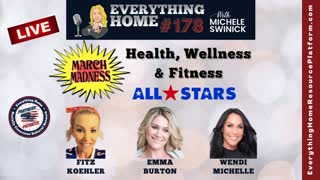 178 LIVE: MARCH MASKLESS MADNESS - Health, Wellness & Fitness - 3 All Star Partners - NO MO EXCUSES!