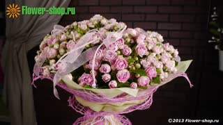 букеты и композиции Flower-shop.ru - Video