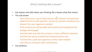 What is thinking like a lawyer? How You can Learn This Skill In Law School.