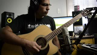 Acoustic guitar cover of 'Game of Thrones' theme music - Video