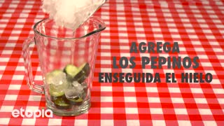 Resfréscante Limonada de pepino - Video