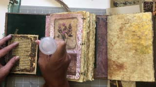 Inside Covers- Renaissance Journal- Part 2 (from Lovely Lavender Wishes)