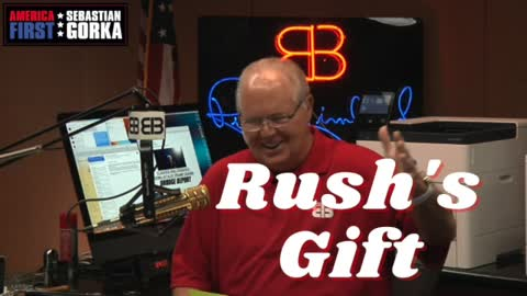 Rush Limbaugh's Gift. Howie Carr on AMERICA First with Sebastian Gorka
