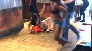 Fight Breaks Out in Florida Fast Food Chain