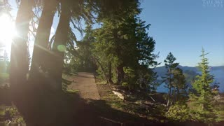 Tradmill Virtual Hike - Crater Lake, (Oregon) Rim Hike - Discovery Trail