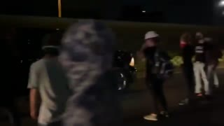 Man scolds BLM protesters in Austin blocking highway