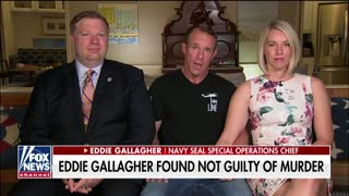 Eddie Gallagher speaks out in TV first interview since acquittal