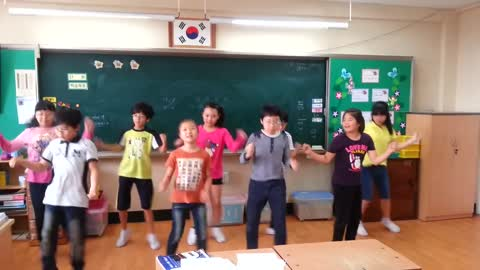 Korean Pupils Move Their Happy Feet To The Rhythm Of 'Footloose'