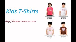 Kids Graphic Black Colour Tee Shirts - Video