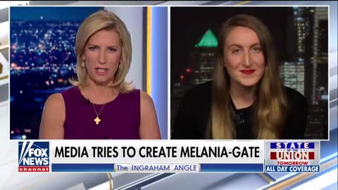 Laura Ingraham Shreds 'Feminist' On Live TV Who Claims Melania Is 'Disgusted' Her Husband