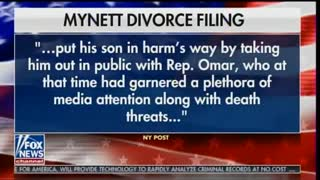 Fox News report on Ilhar Omar's affair