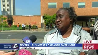Disabled Minneapolis woman hurt by riots