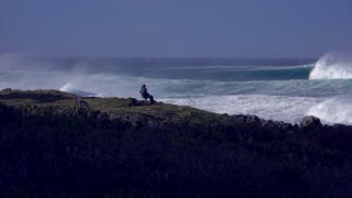 3 story waves off the South Coast of New South Wales, Australia - Video