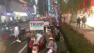Japan:Trump Supporters Rally in Tokyo