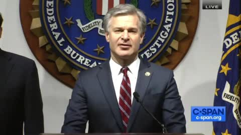 FBI News Conference on Election Security
