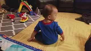 Watch This Baby In Spiderman Costume Making His First Steps - Video