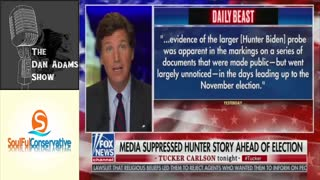 Tucker Carlson Torches Liberal Media's Pathetic Censorship, Cover-Up of Hunter Stories