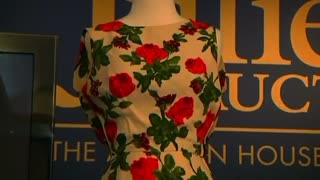 Marilyn Monroe dress, royal cakes up for auction - Video