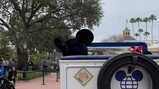 Walking the World Showcase with Mickey!