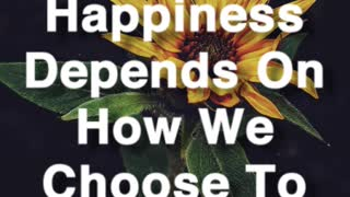 Happiness Depends On - Video
