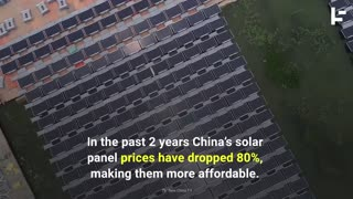 China Floats to the Top of the Solar Energy Pool - Video