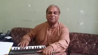 Man singing new indian song at home  - Video