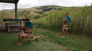 New Zealand Maori Ceremony 2 - Video