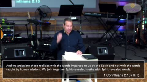 Pastor Dave shares a message of hope and encouragement from 1 Corinthians 2