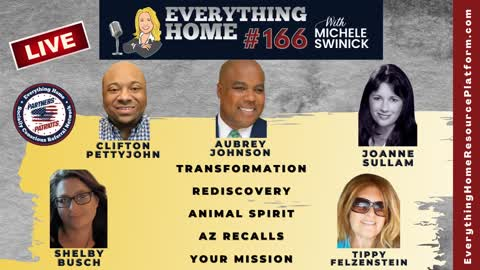 166 LIVE: Transformation, Rediscovery, Animal Spirit, Arizona Recalls, Your Mission