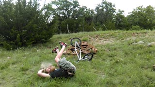 Dad's Epic Fail at BMX - Video