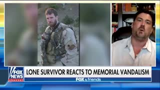 Marcus Luttrell Reacts After Fallen Navy SEAL's Memorial Vandalized