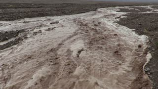 Atacama Desert flash flood