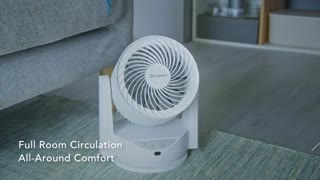 AIRMATE: World's Most Efficient 2-in-1 Circulator