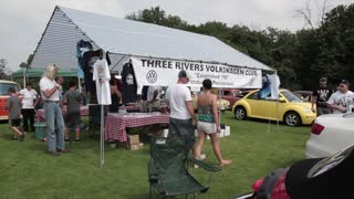 Three Rivers Volkswagen Club 25th Anniversary at the Pittsburgh Vintage Grand Prix - Video