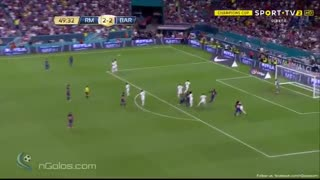 Gol de Pique vs Real Madrid - Video