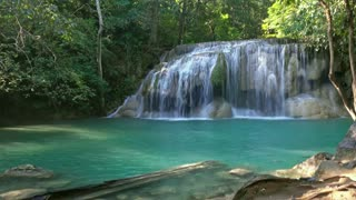 Waterfall Sounds Relaxation   Water White Noise for Studying I Nature Sounds
